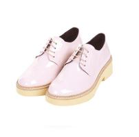 Topshop Baby Pink Brogues