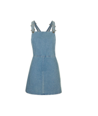 Topshop Denim Pini Dress