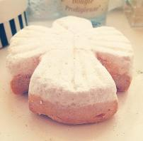 Lush Snow Angel Bath Bomb Melt
