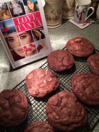 Tanya Burr's Triple Choc Chip Cookies