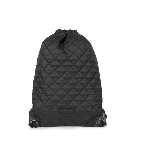 Topshop Quilted Drawstring Bag – the style intervention
