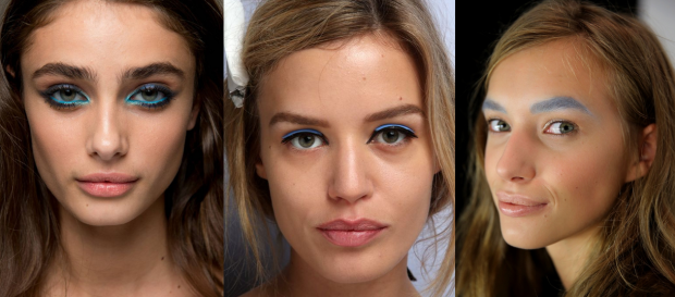 Spring 2015 Makeup at Elie Saab, Fendi and Badgley Mischka
