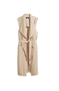 Sleeveless Trenchcoat, £29.99