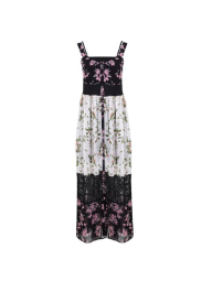 Floral Patchwork Maxi Dress, £45