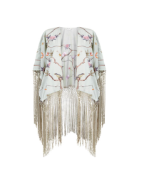 Mint Embroidered Kimono, £65