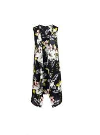 F&F Floral Longline Waistcoat
