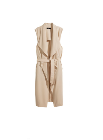 H&M Nude Flowing Trench