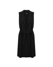 Miss Selfridge Black Belted Duster