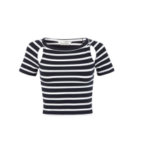 Miss Selfridge Jersey Stripe Tee