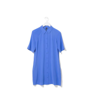 Topshop Boutique Silk Shirt Dress