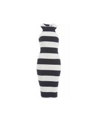 AX Paris Striped Midi Dress