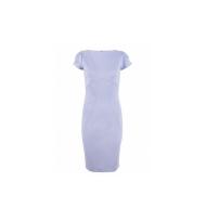 Closet Lilac Curve Seam Dress