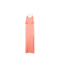 New Look Coral Strappy Maxi Dress
