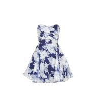 TFNC Floral Skater Dress