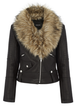 Warehouse Luxe Fur Biker