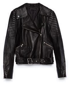 Zara Leather Biker Jacket, £89.99
