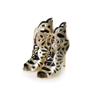 Topshop Ravish Laser-Cut Sandals, £58
