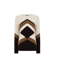 Blocked Chevron Jumper, £45