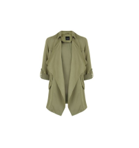 Khaki Waterfall Trench, £32.99