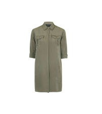 Oversized Cupro Shirtdress, £40