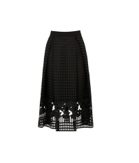 Warehouse Grid Lace Skirt, £80