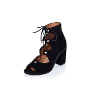 River Island Lace-Up Ghillie Heels