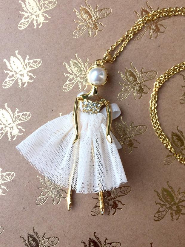 Ted Baker Tutu Ballerina Pendant