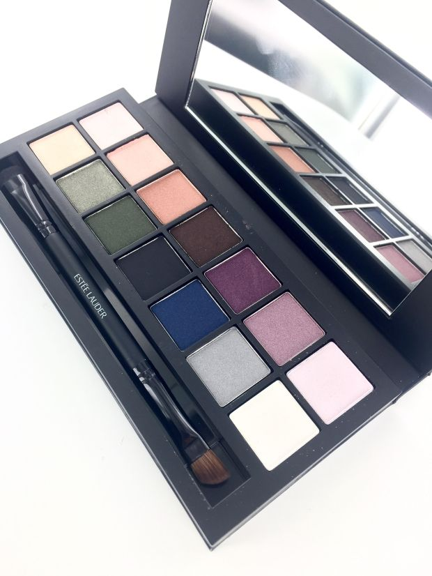 Estée Lauder Smoky Nights Eyeshadow Palette Colours