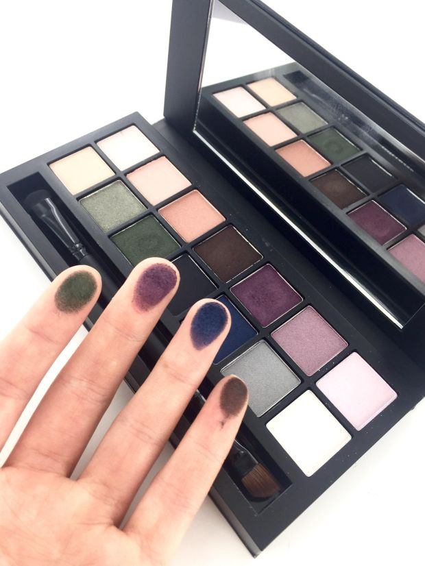 Estée Lauder Smoky Nights Eyeshadow Palette Swatches