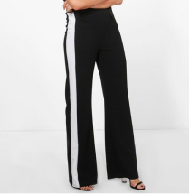 Boohoo Tall Wide Leg Side Panel Trousers