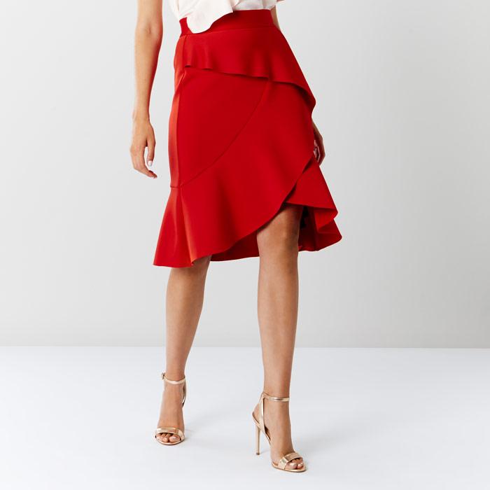 Coast Keegan Ruffle Skirt