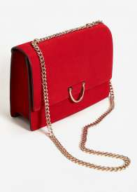 Mango Chain Leather Bag