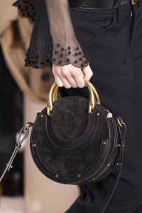 Chloe Pixie Bag in Black