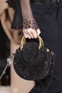Chloe Pixie Bag in Black